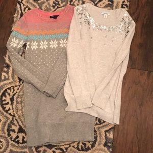 2 Tunic/Sweaters
